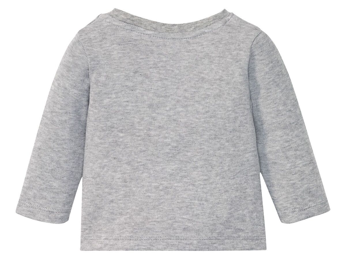Bild 20 von LUPILU® Baby Langarmshirts, 3 Stück, aus reine Baumwolle