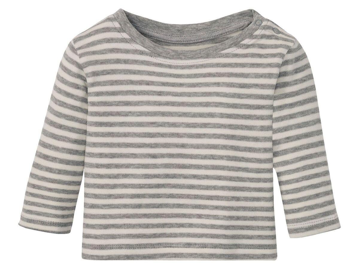 Bild 21 von LUPILU® Baby Langarmshirts, 3 Stück, aus reine Baumwolle