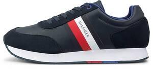 Tommy Hilfiger, Sneaker Corporate Flag Runner in weiß, Sneaker für Herren