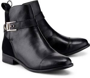COX, Trend-Bootie in schwarz, Stiefeletten für Damen