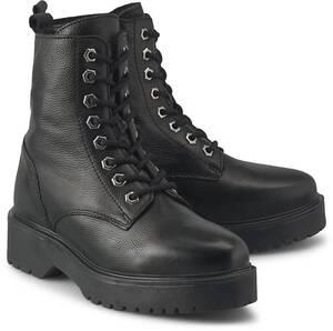 Another A, Schnür-Stiefelette in schwarz, Boots für Damen