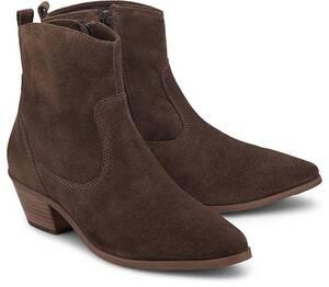 COX, Trend-Boots in dunkelbraun, Boots für Damen