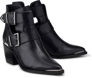 Another A, Trend-Stiefelette in schwarz, Boots für Damen