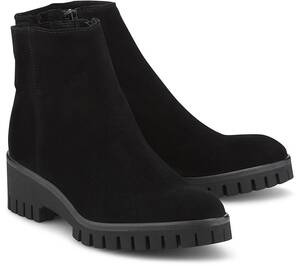 Belmondo, Velours-Boots in mittelbraun, Stiefeletten für Damen