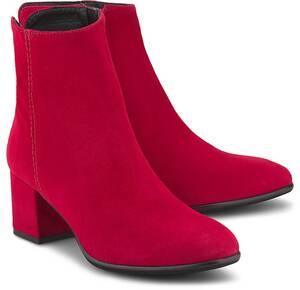 Belmondo, Klassik-Stiefelette in rot, Stiefeletten für Damen