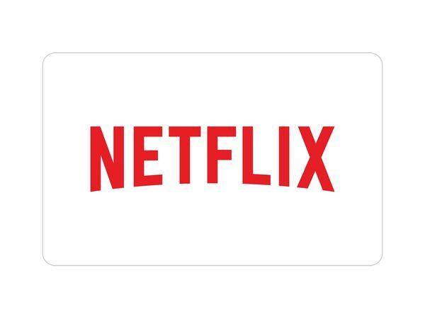 Netflix Geschenkkarte über 50 €