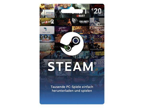 Steam Wallet Card über 20€