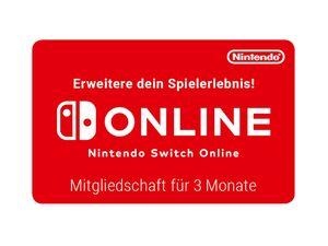 Digitaler Code für: Nintendo Switch Online - 3-monatige Mitgliedschaft
