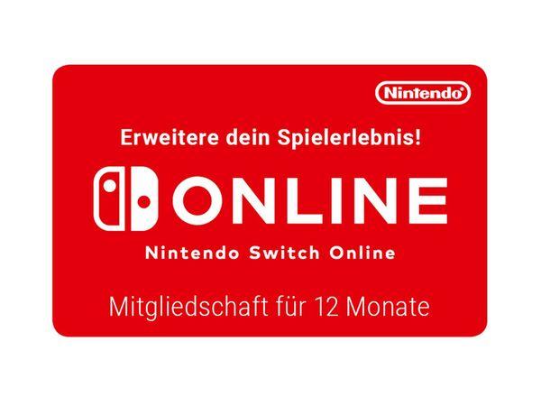 Digitaler Code für: Nintendo Switch Online - 12-monatige Mitgliedschaft
