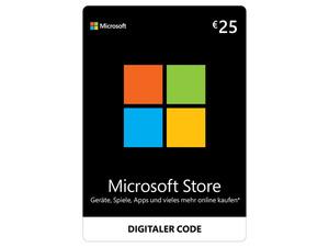 Microsoft Store 25€ Guthaben