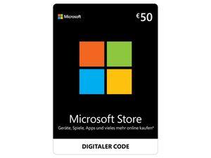 Microsoft Store 50€ Guthaben