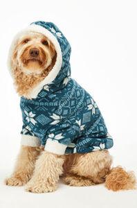 Hunkemöller Fleece Hunde-Onesie Blau