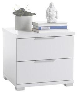 Nachtkästchen in Weiß 'B:46cm Weiß'