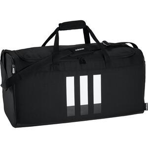 Sporttasche 35 Duf L Black schwarz/weiss