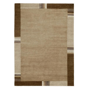 Esposa Orientteppich 70/140 cm braun , Sensation Silk Lakir , Textil , Bordüre , 70x140 cm , für Fußbodenheizung geeignet, in verschiedenen Größen erhältlich , 007946158553