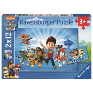 Puzzle-Box - Ryder und die Paw Patrol - 2x 12 Teile