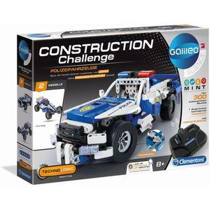 Galileo - Construction Challenge - Polizeifahrzeuge - Clementoni