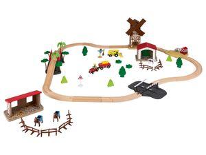 PLAYTIVE® Holzeisenbahn