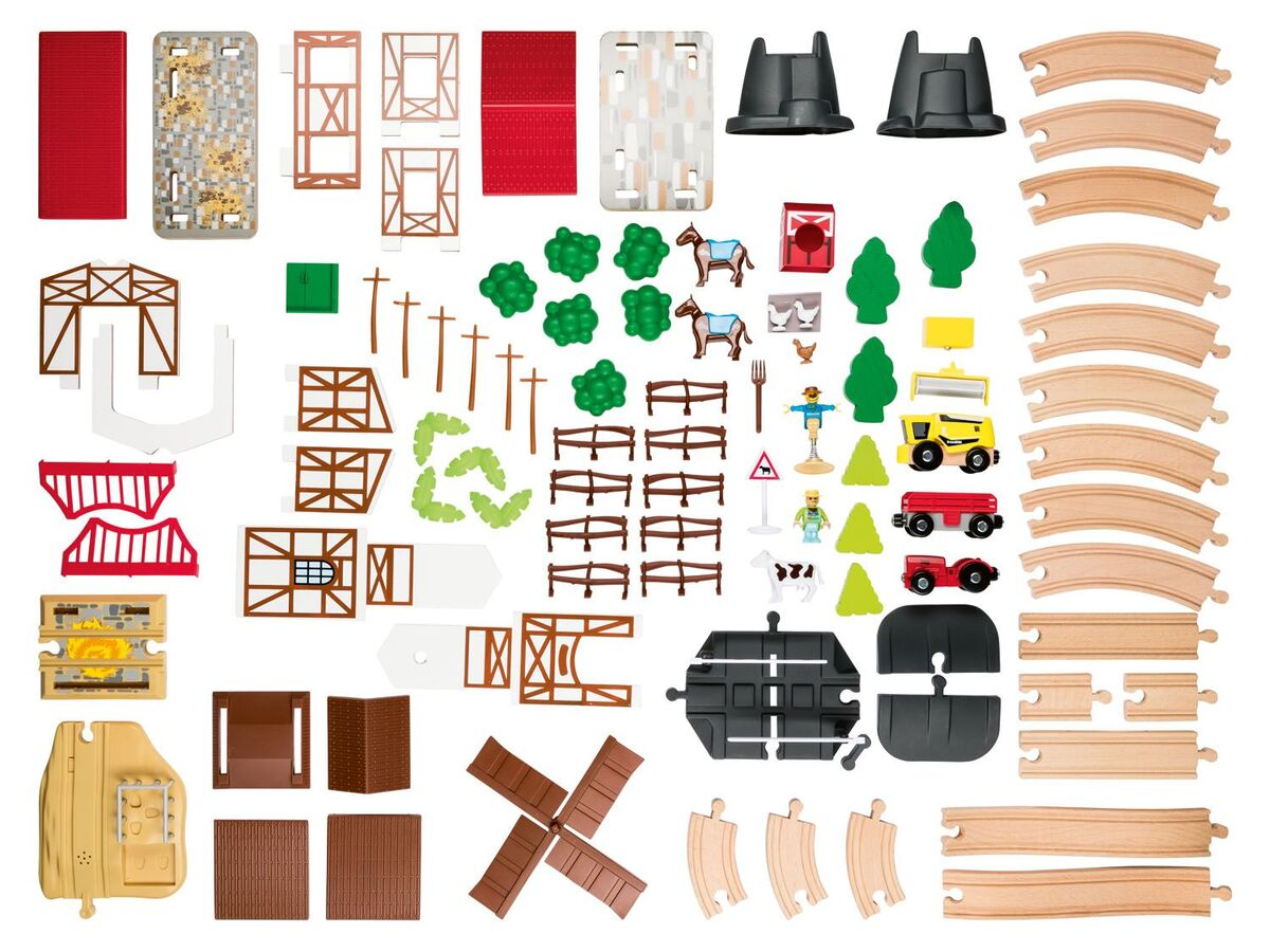Bild 2 von PLAYTIVE® Holzeisenbahn