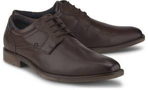 COX, Business-Schnürer in dunkelbraun, Business-Schuhe für Herren