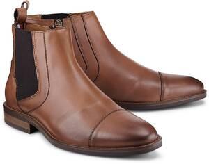 Tommy Hilfiger, Chelsea-Boots in mittelbraun, Boots für Herren