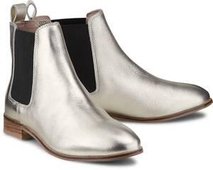 COX, Chelsea-Boots in gold, Boots für Damen