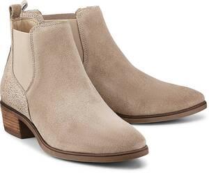 COX, Chelsea-Boots in beige, Boots für Damen
