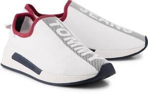 Tommy Jeans, Wmn Technical Mesh in weiß, Sneaker für Damen