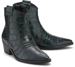 Kennel & Schmenger, Boots Eve in dunkelgrün, Boots für Damen