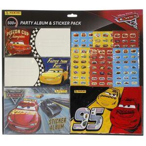 Disney Cars 3 - Mega Sticker Pack mit Album