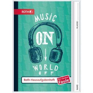Hausaufgabenheft Teens - Music On - A5