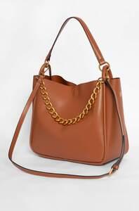 Handtasche mit Ketten-Detail