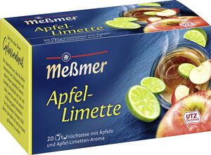 Meßmer Tee Apfel-Limette 20ST 50G