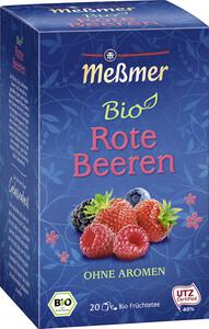 Meßmer Bio Tee Rote Beeren 20ST 60G