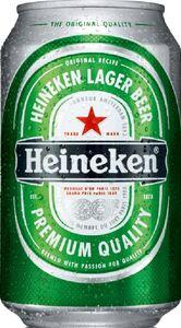 Heineken Lager Beer Dose 0,33 ltr
