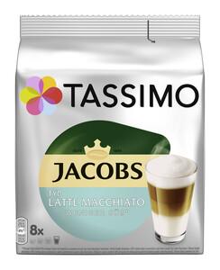 Tassimo Jacobs Kaffeekapseln Latte Macchiato Typ weniger süß 8ST 220G