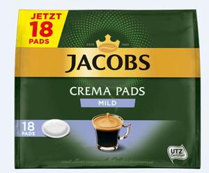 Jacobs Kaffeepads mild 18ST 118g