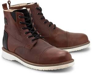 COX, Winter-Stiefel in dunkelbraun, Stiefel für Herren