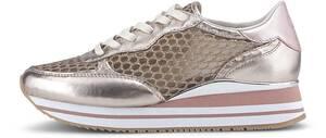 Crime London, Glamour-Sneaker in roségold, Sneaker für Damen