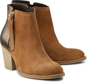 COX, Fashion-Stiefelette in mittelbraun, Boots für Damen