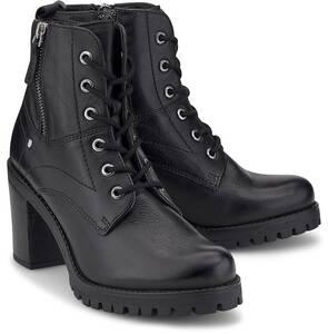 COX, Plateau-Stiefelette in schwarz, Stiefeletten für Damen