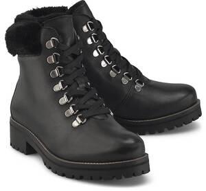 COX, Schnür-Boots in mittelbraun, Boots für Damen