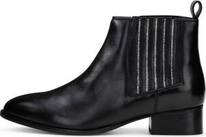 COX, Chelsea-Stiefelette in schwarz, Boots für Damen