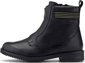 COX, Zipper-Boots in schwarz, Boots für Damen