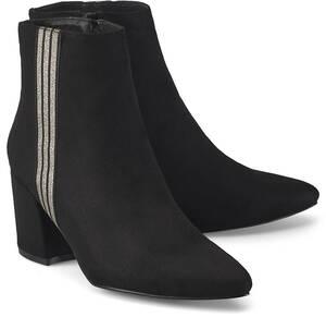 COX, Fashion-Stiefelette in schwarz, Stiefeletten für Damen