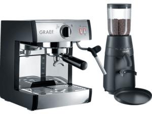 GRAEF ES 702 Euset Pivalla Set inkl. CM 702 Espressomaschine
