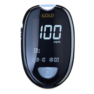 Blutzuckermessgerät GlucoCheck GOLD Starter-Set mit 60 Teststreifen