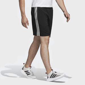 Adidas Shorts Chelsea Fitness Cardio schwarz mit 3 Streifen.
