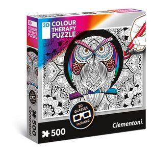 Puzzle - Eule - 500 Teile