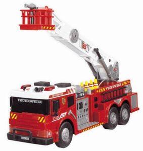 Dickie - Feuerwehrfahrzeug mit Freilauf, Licht und Sound - ca. 62 cm